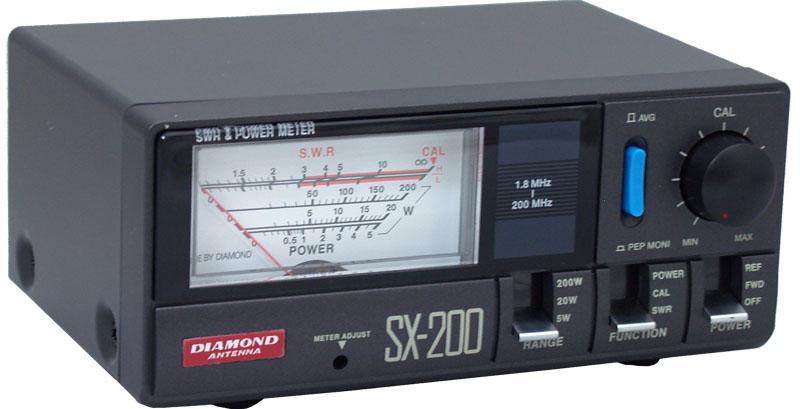 Diamond 174 Antenna Sx200 Power Meter