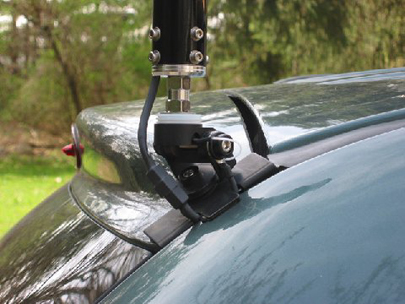 Diamond® Antenna ~ Hatchback Mount Installation Photos